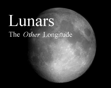 Lunars - the Other Longitude