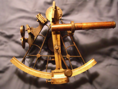 A vernier sextant --from my collection